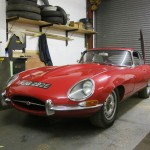 Jaguar E-type - in for a new interior