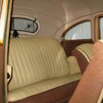 Bristol 400 1949 - restoration of original interior, including seats, side panels, carpets and headlining