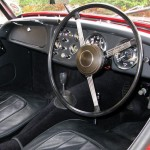 TR3A Triumph - re-upholstered seats, carpets and interior trim