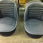 Triumph TR3A seats