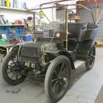 1903 Panhard-Levasser before the hood