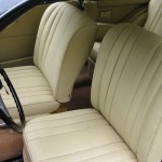 Bristol 401 1950 - re-upholstered seats